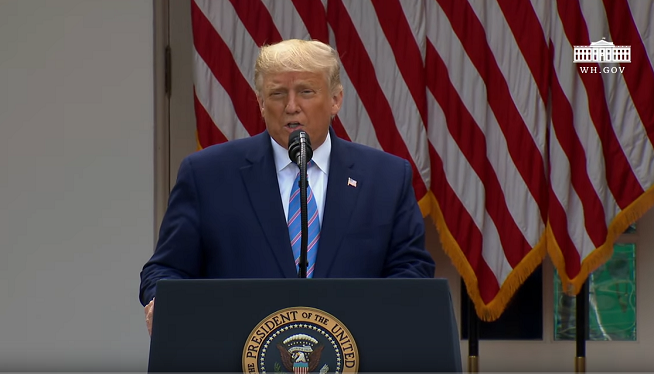 WATCH: President Trump announces distribution of 150M rapid tests for Coronavirus