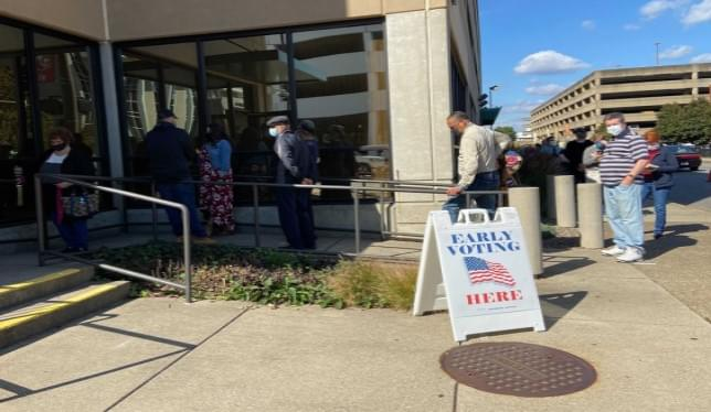 West Virginia Residents Pack Polling Places For Early Voting