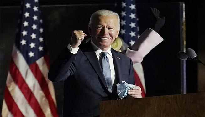 Biden projected winner of 2020 presidential race