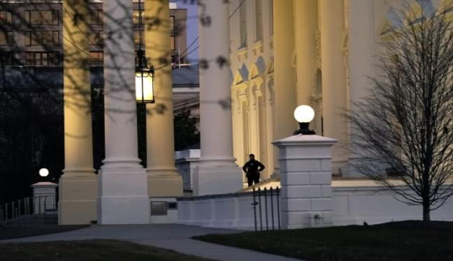 Expecting trouble, DC locks down a week before inauguration
