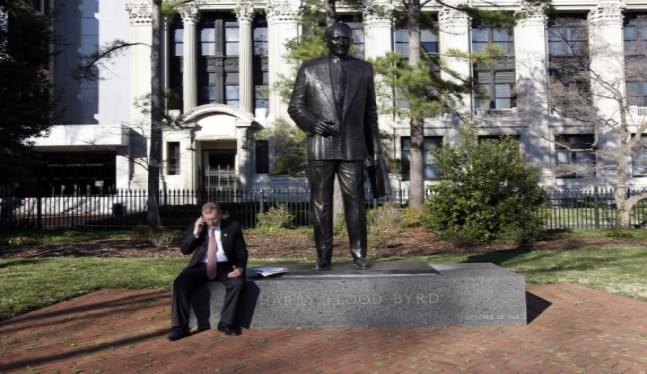 Virginia lawmakers vote to remove statue of Harry Byrd