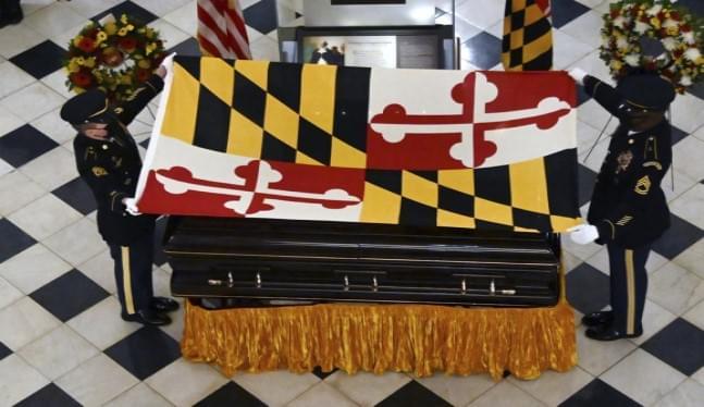 Maryland pays tribute to longtime Senate president Miller