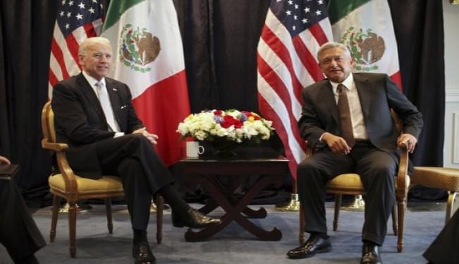 Biden to meet with Mexican president amid immigration issues