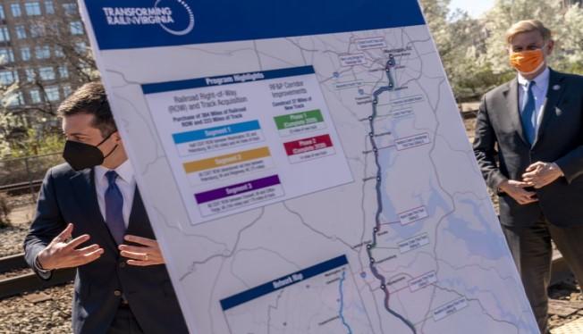 Virginia inks $4 billion deal with Amtrak, CSX to boost rail
