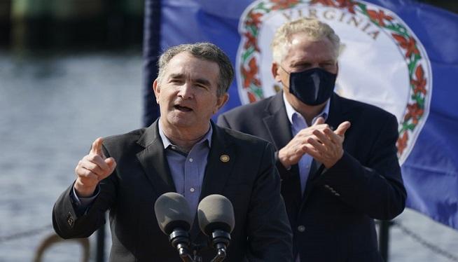 Northam endorses predecessor McAuliffe for Virginia governor