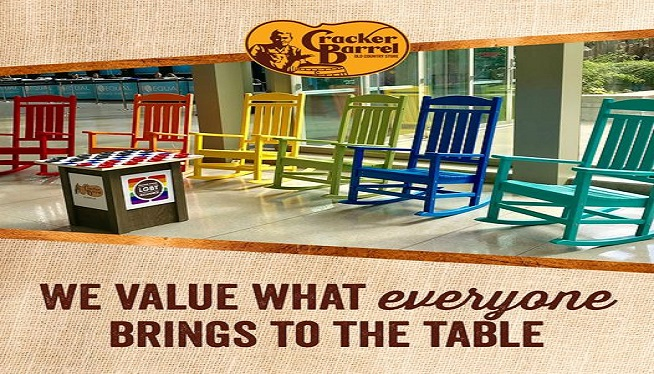 """Cracker Barrel unveils new """"Diversity and Inclusion Strategy"""""""