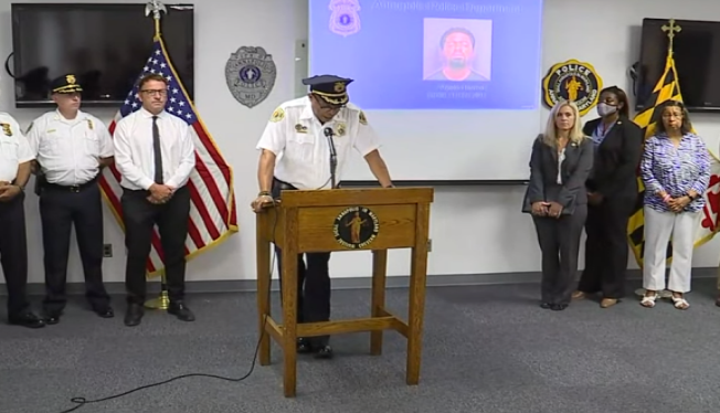 Man, 29, charged in shooting death of mother of midshipman in Annapolis