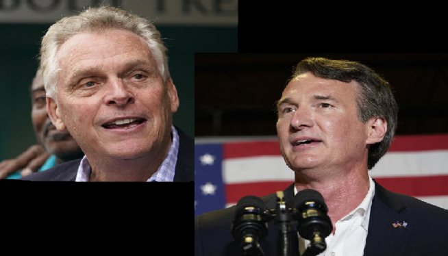 Campaign finance reports: McAuliffe leads Youngkin in cash