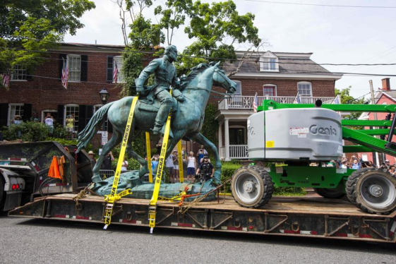 At least 13 organizations interested in statues removed in Charlottesville