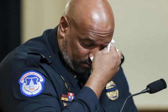 Capitol Police Officers tell stories of what happened on Jan. 6