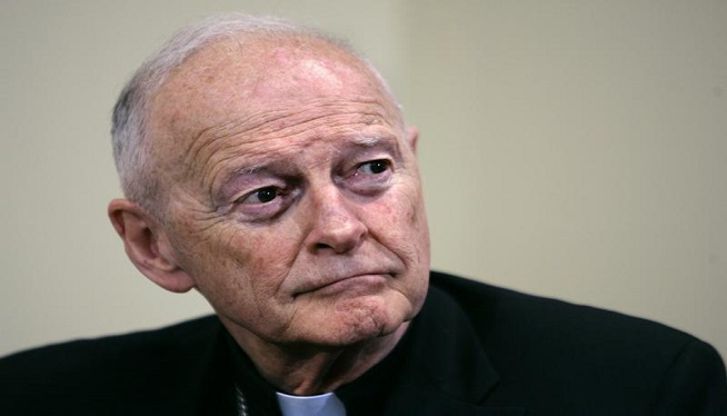 Ex-Cardinal McCarrick charged with sexually assaulting teen