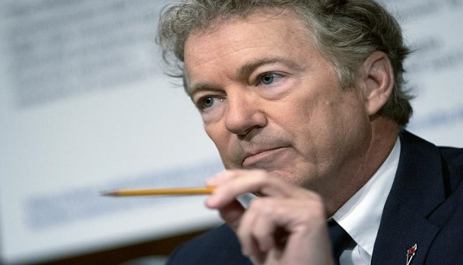 """YouTube suspends Rand Paul after """"misleading"""" video on masks"""