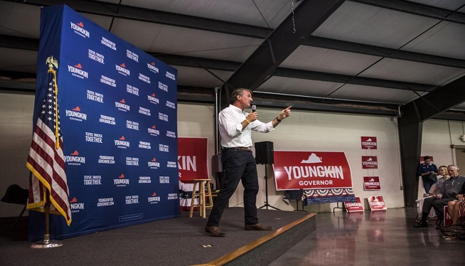Republican Youngkin outlines new tax, policy proposals