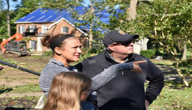 MD governor tours tornado damage in Annapolis and Edgewater and calls it devastating