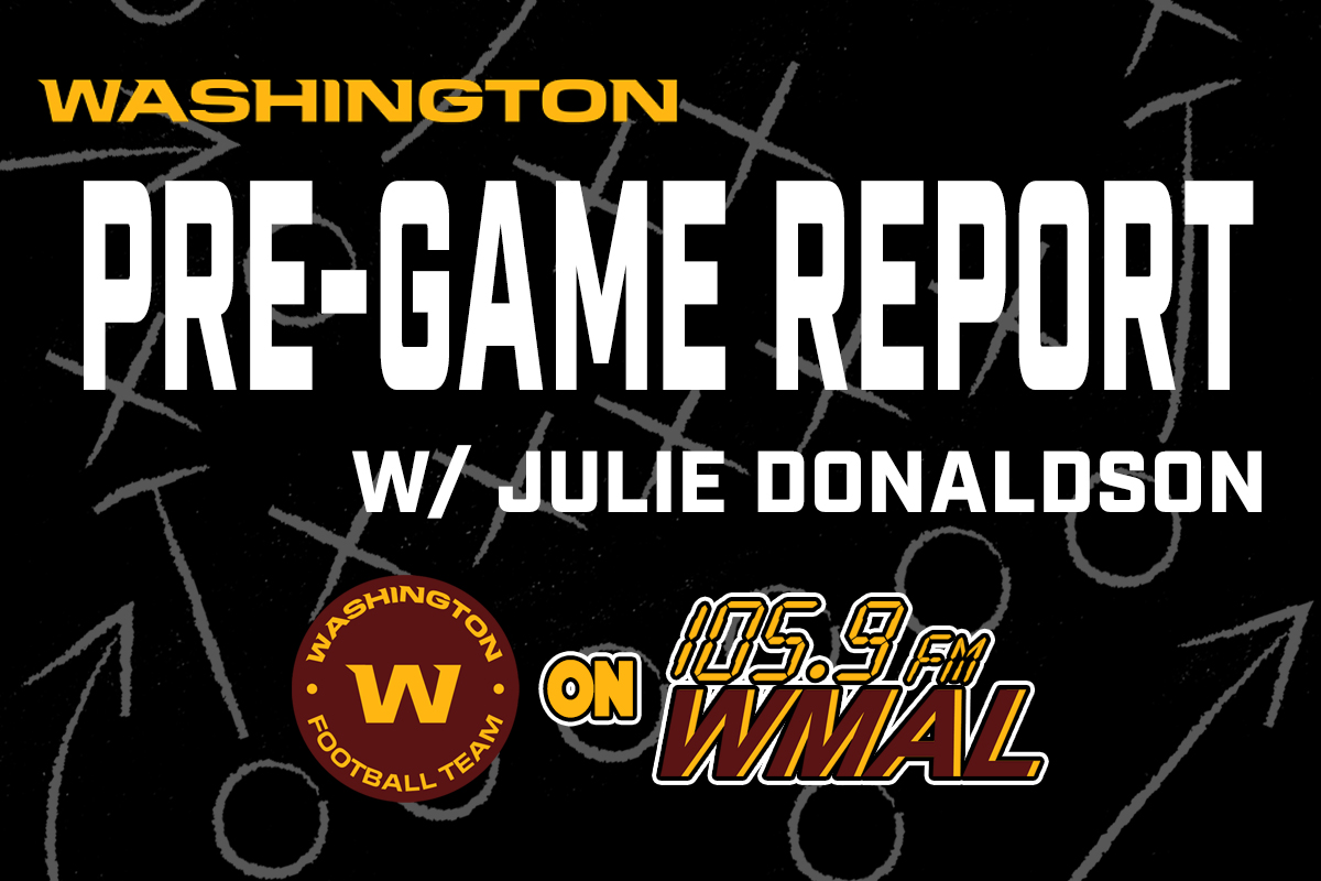 Washington Pre-Game Report with Julie Donaldson 09.10.21