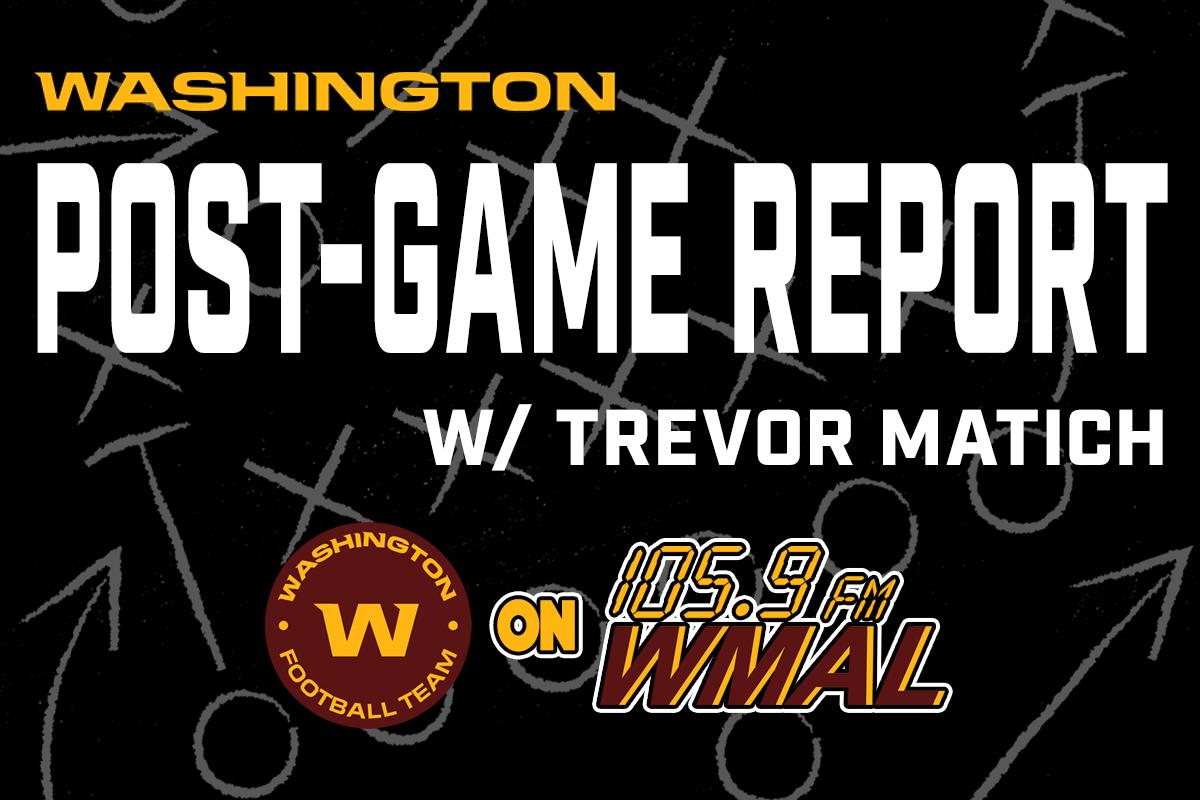 Washington Post-Game Report w/ Trevor Matich 10.18.21