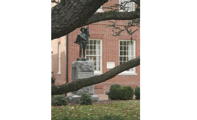 Confederate statue to be moved from Maryland courthouse lawn