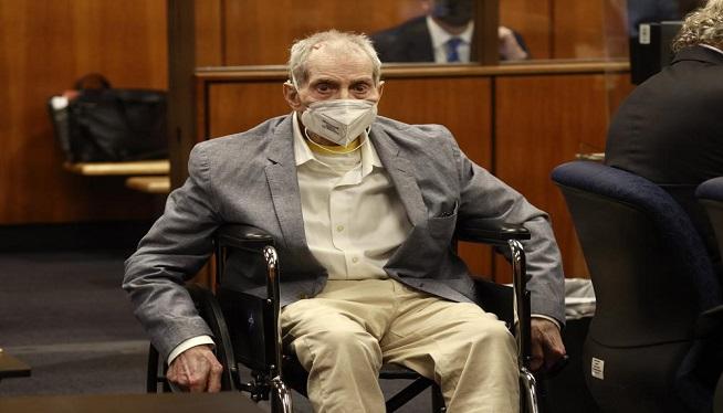 Jury finds Robert Durst guilty of best friend's murder