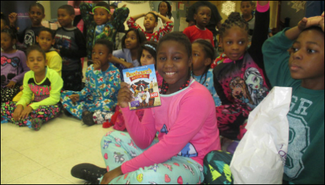 Holiday Pajama Party at Thurgood Marshall Academy