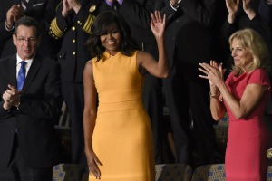 Michelle Obama's State of the Union Dresses [Photos]