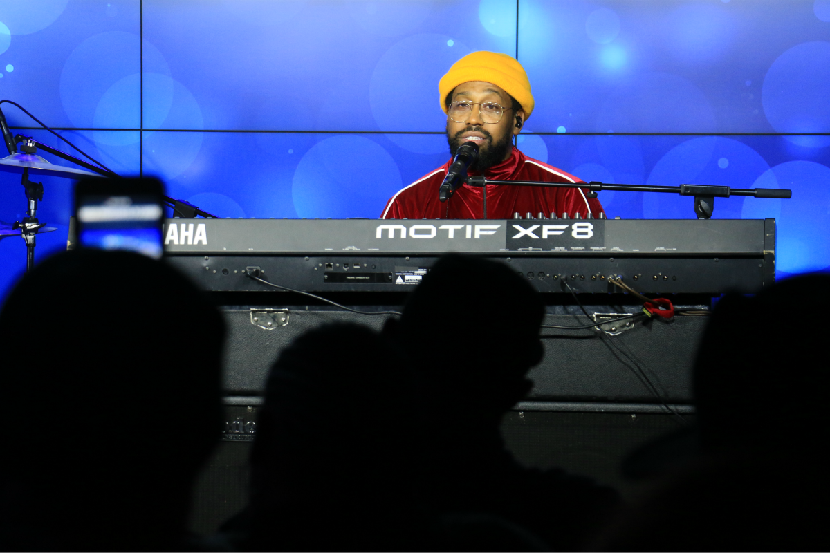PJ Morton LIVE from HMH Stage 17! [Exclusive Video]