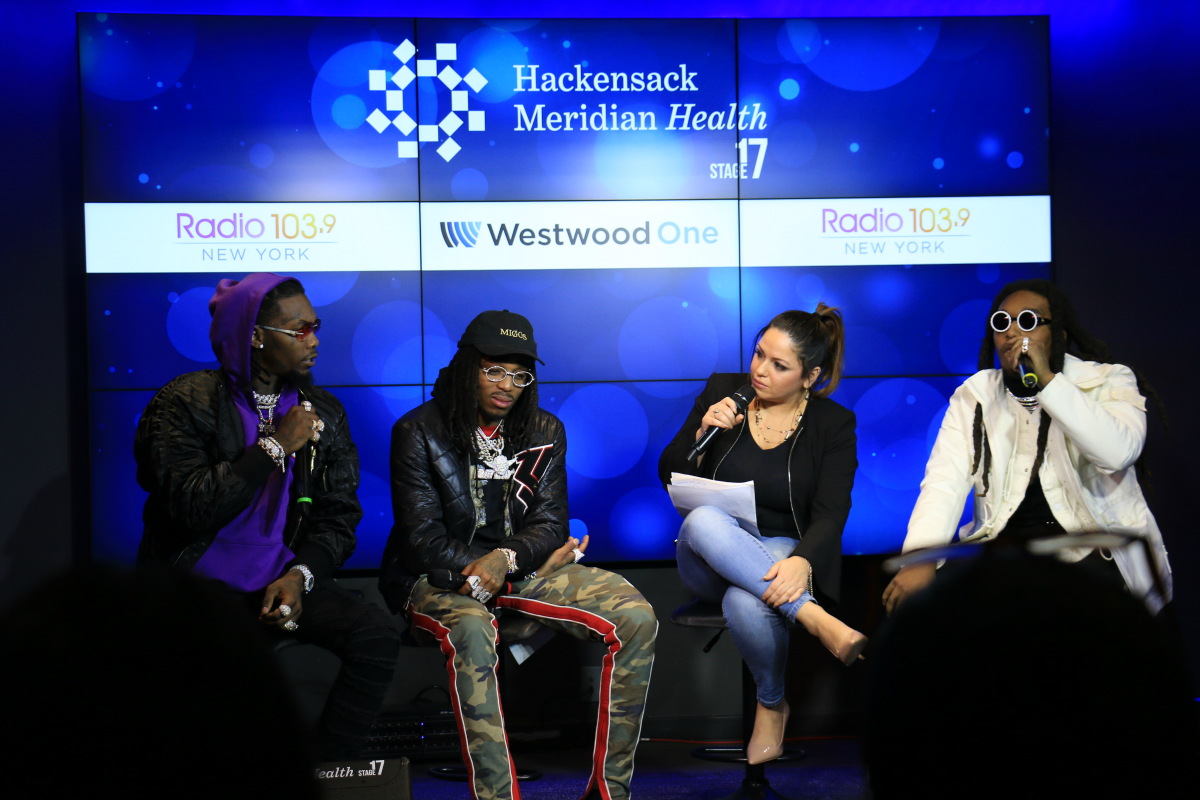 Migos Interview LIVE from HMH Stage 17! [Exclusive Video]
