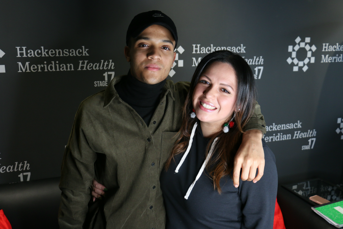 Nicholas Ashe talks to Mina SayWhat in the HMH Stage 17 Artist Lounge! [Exclusive Video]