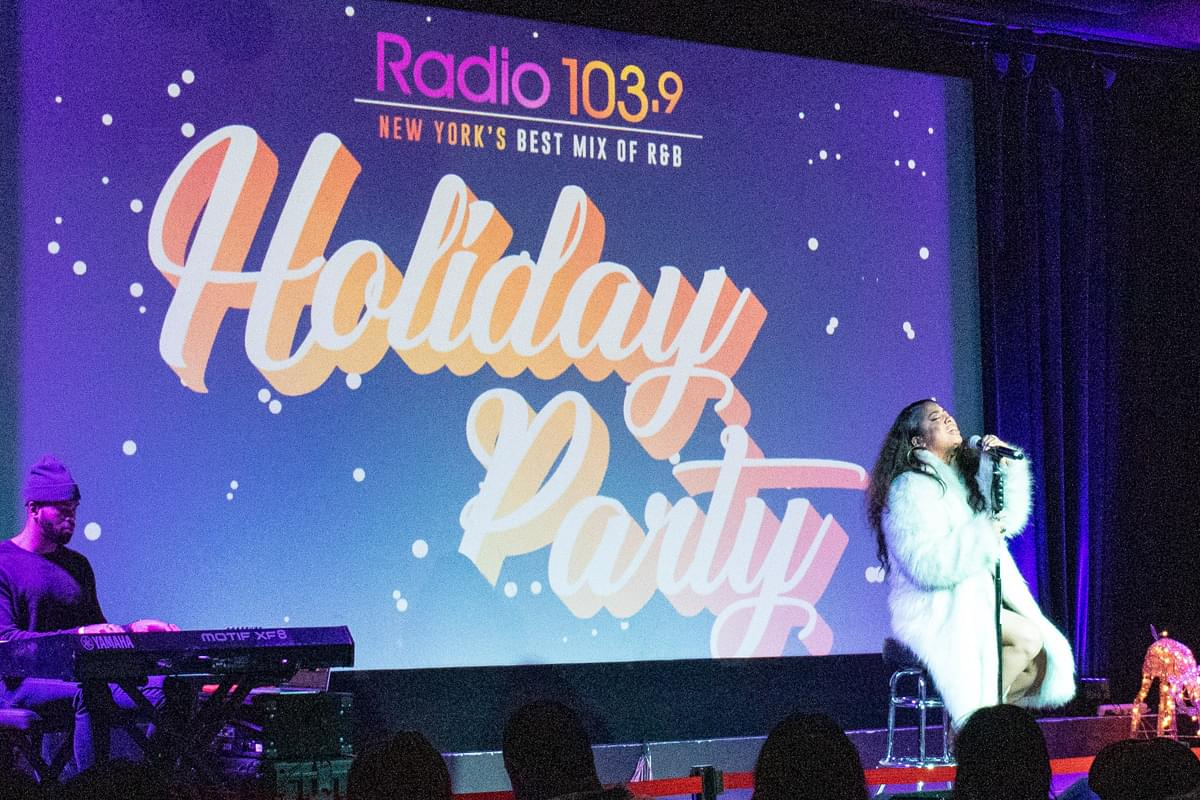 Radio 103.9 Holiday Party Live at MIST Harlem [Exclusive Photos]