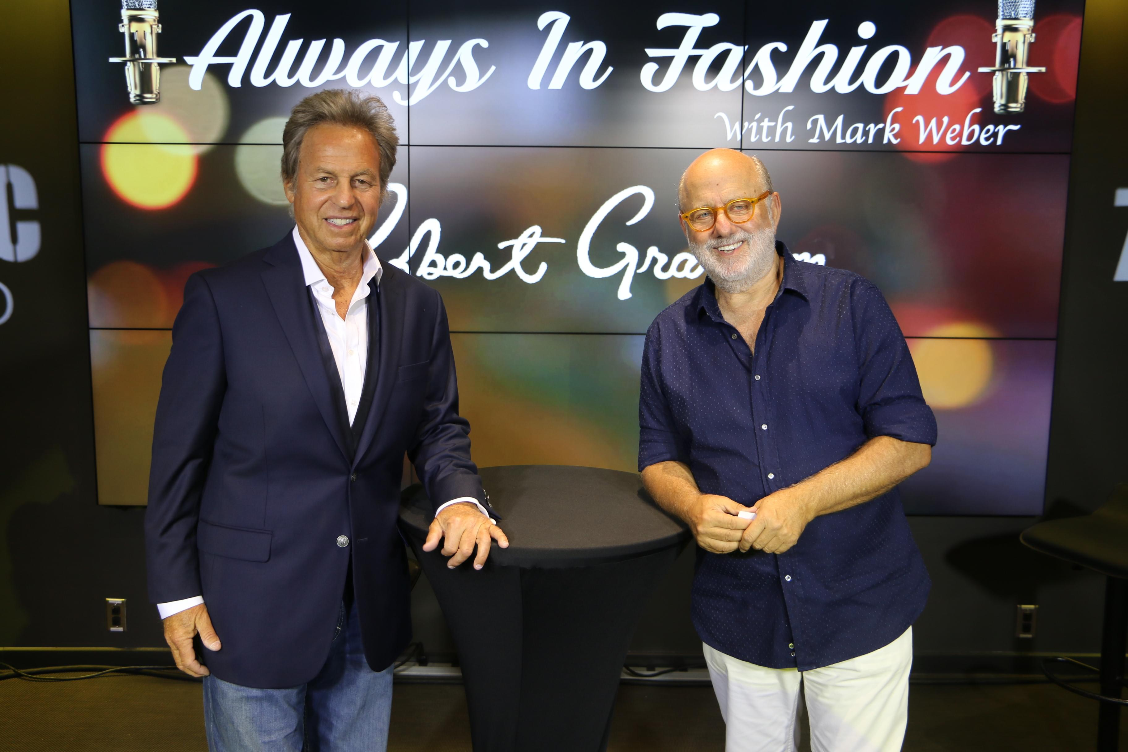 Always in Fashion with Mark Weber featuring Robert Stock! [Exclusive Video]
