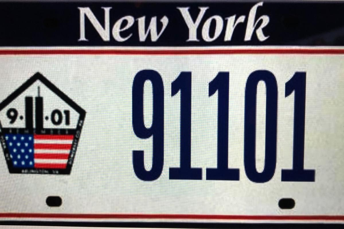 NY approves September 11 license plates