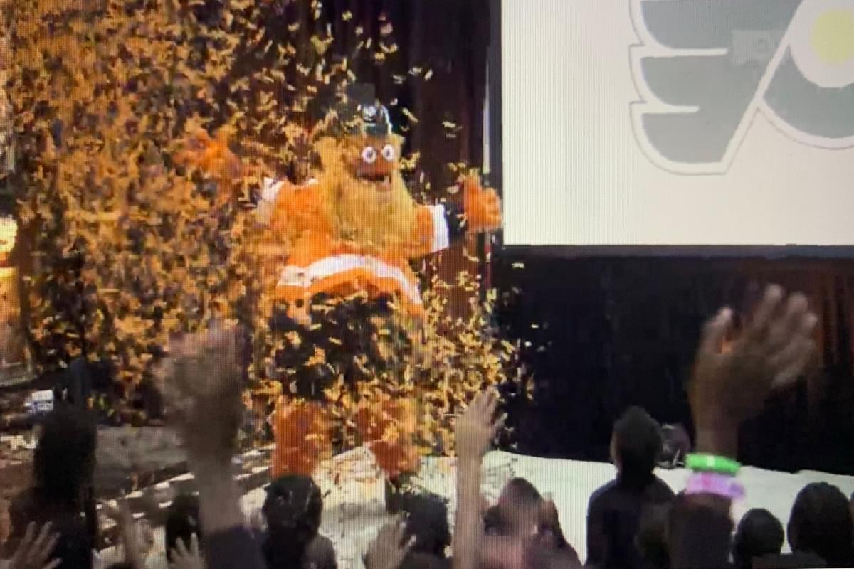 Meet the Philadelphia Flyers New Mascot