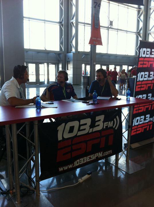 Soccer Today Cowboys Stadium 8-6-2011