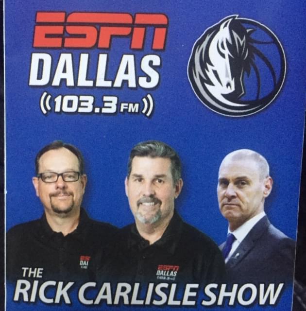 DAC: The Rick Carlisle Show on the Amazing Mavs Run