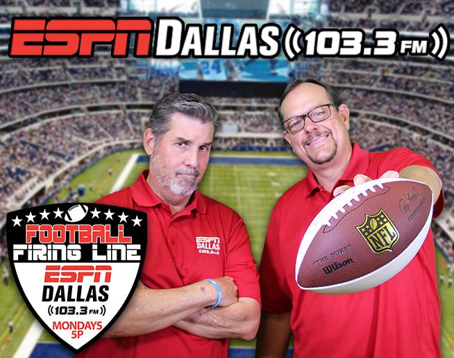 12-09 Football Firing Line – Cowboys v Eagles & the Release of Brett Maher