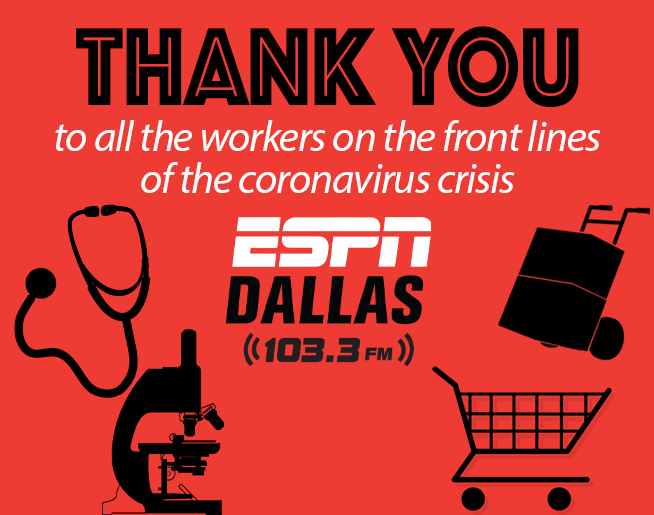 ESPN Dallas Wants To Send Out A Special Thank You!