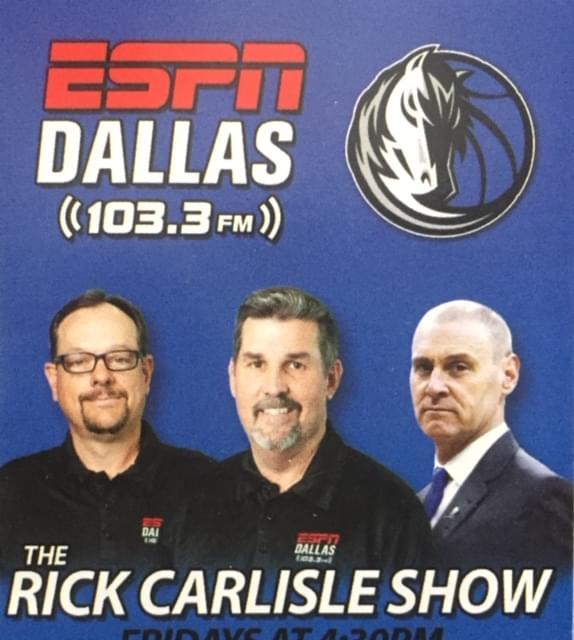3-20 DAC Podcast – The Rick Carlisle Show