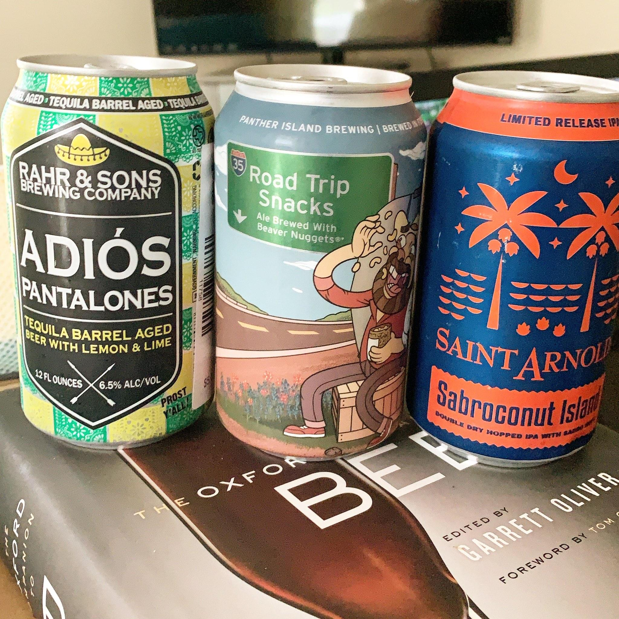 Just the Sip (Fridays at 12:30) – Sampling 3 Beers Live on the Radio