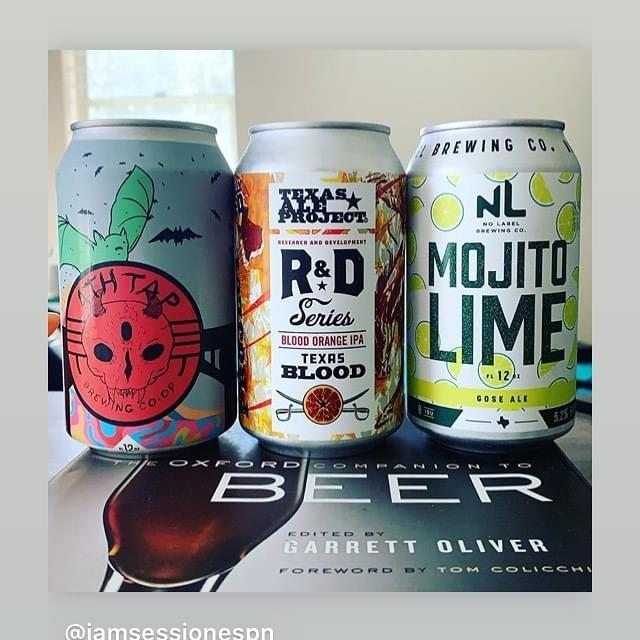 Just the Sip | Sampling Beers from 4th Tap Brewing, Texas Ale Project, and No Label Brewing