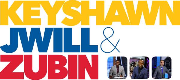 Keyshawn, Jay, and Zubin (Mornings 5-9 on 103.3 FM ESPN) | KESN-FM