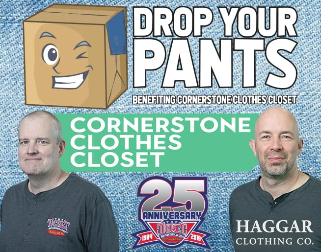 Haggar Drop Your Pants Clothing Collection 2019