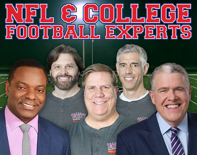 The Musers talk to NFL Insider Peter King and College Football Studio Host Brian Jones