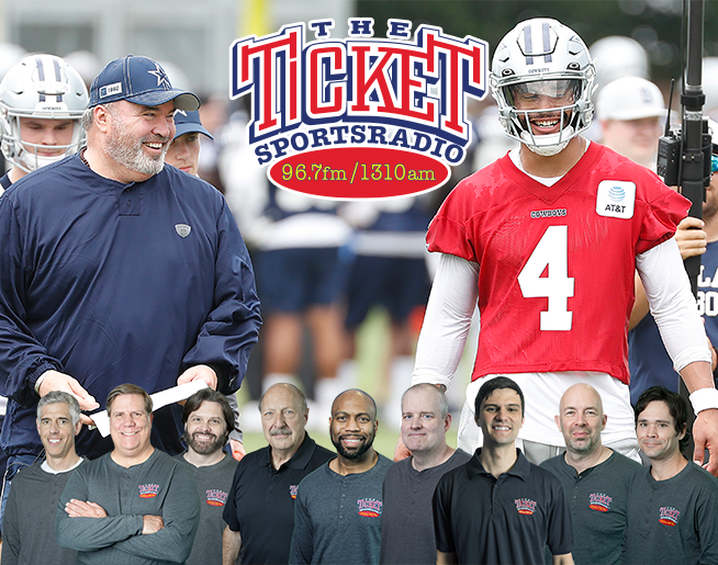 The Ticket Cowboys Training Camp Coverage Begins July 21- July 30 Live from Oxnard, CA