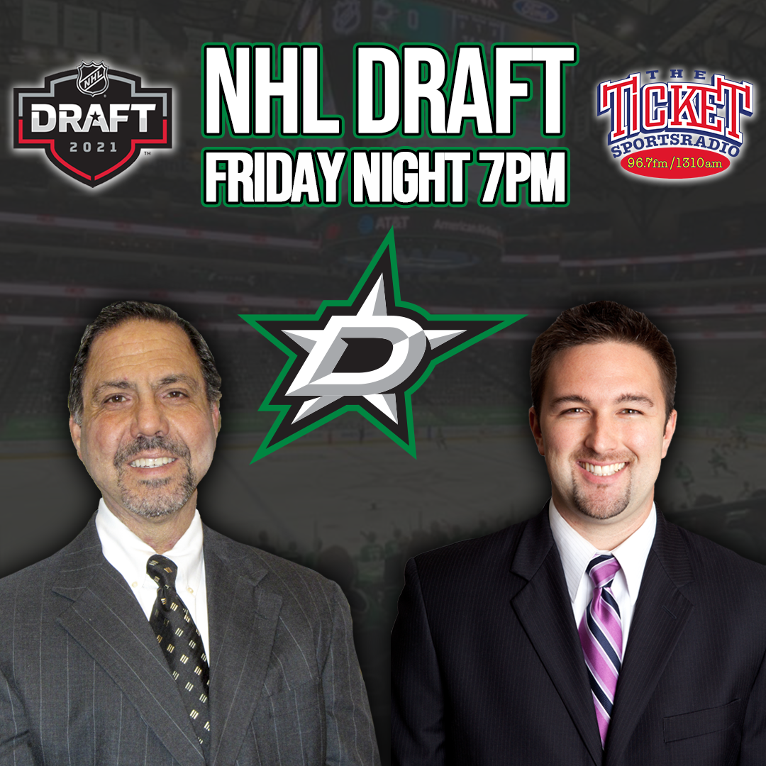 The NHL Draft is on The Ticket! Friday Night July 23rd 7pm