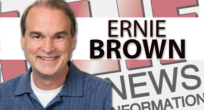 The Ernie Brown Show: Today's Top Five News Stories Are…