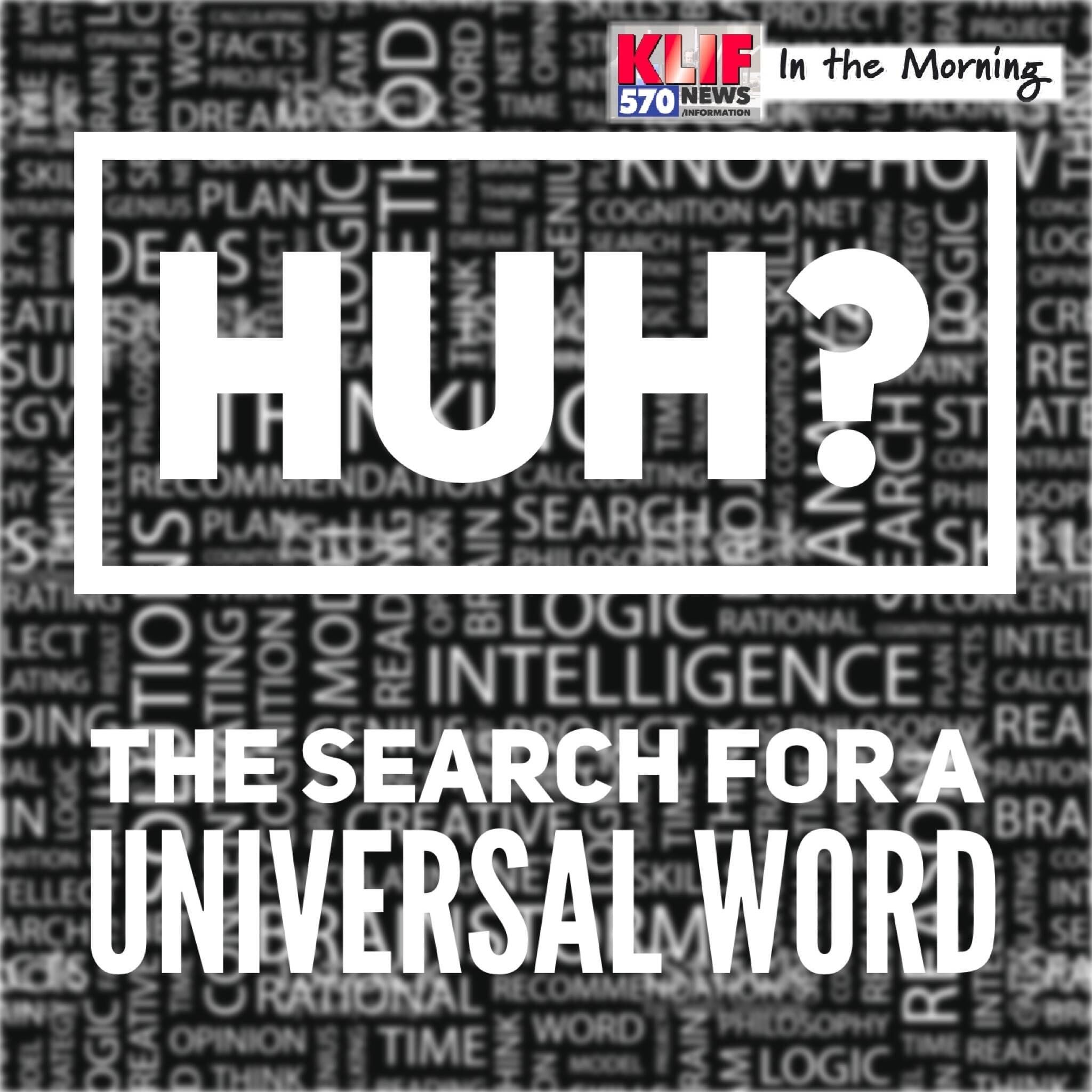 What's the One Universal Word?