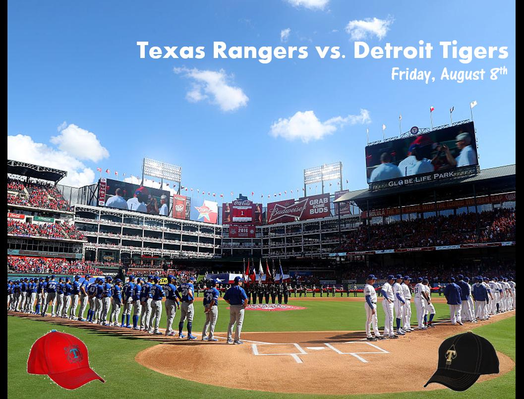 Listen to Win Texas Rangers Tickets!