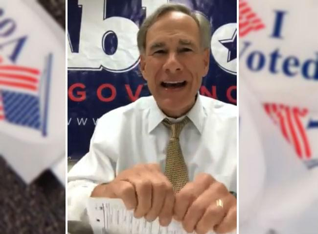 Texas Voters Overwhelmingly Approve Ban on State Income Tax; Gov Abbott is Thrilled
