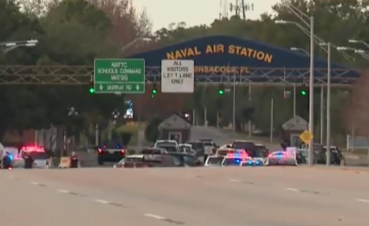 Four Dead, Including Gunman, at Florida Navy Base; Suspect Believed to be Saudi Air Force Lieutenant
