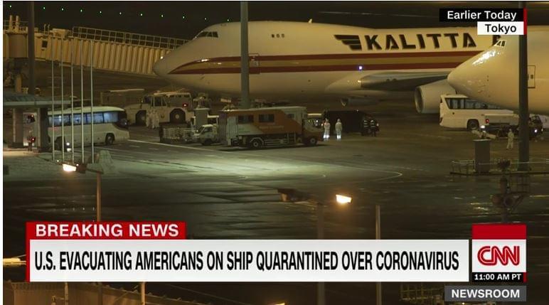 US Evacuates Americans On Quarantined Cruise Ship; 14 Test Positive For Coronavirus