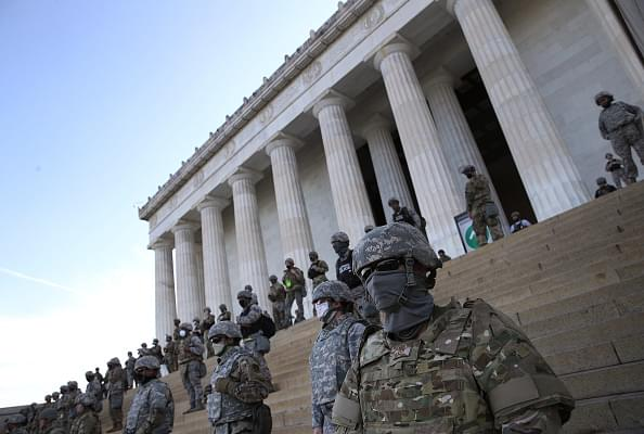AP sources: White House Softens on Sending Troops to States